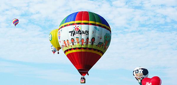 1.台東鹿野高台熱氣球