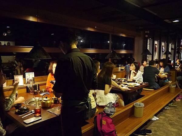 1 韓金館 中山區 林森北路 穿韓服 韓式料理 餐廳 台北.JPG