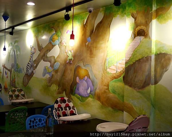 14-2天母 士林 親子餐廳 好吃 美味 hello Jazz 室內沙池 球池.jpg