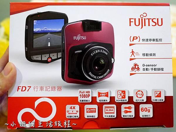 01 FUJITSU FD7 行車記錄器 開箱文 影片 操作 方式 設定.JPG