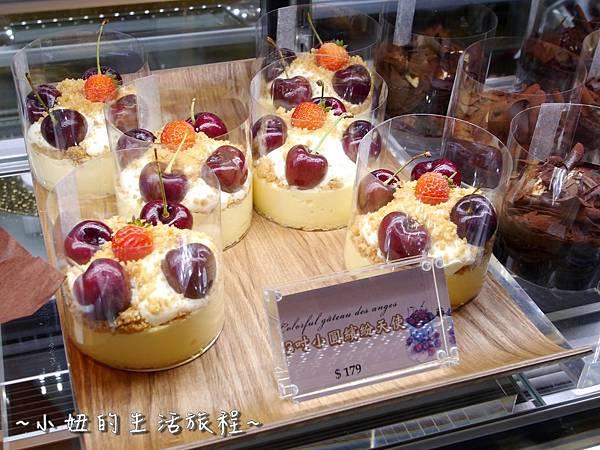 08法國的秘密甜點  安普蕾修起司塔  莎得萊茲 林口三井 outlet 甜點 B1 推薦 必吃.JPG