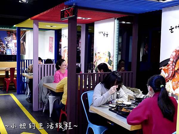 07張君布帳馬車  展圓食尚館  台北 韓式 熱炒 捷運 台北車站 韓國菜 餐廳.JPG