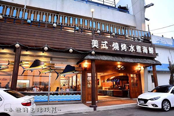 02新竹 南寮漁港 老漁港新海鮮 美式 海鮮餐廳 美食 水桶 推薦.JPG