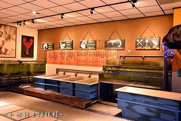 04新竹 南寮漁港 老漁港新海鮮 美式 海鮮餐廳 美食 水桶 推薦.JPG