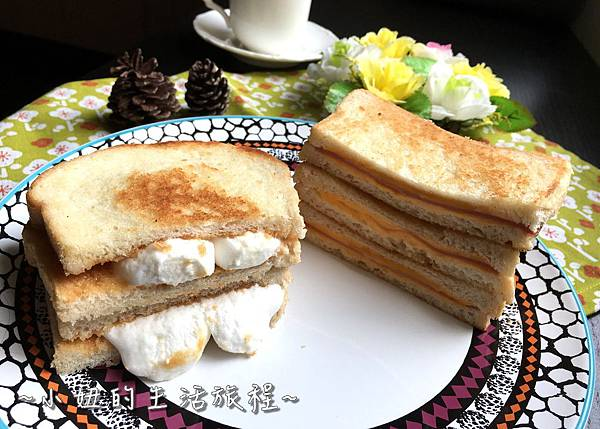 21熱樂煎 爆漿 乳酪  三明治 宅配 網購 半成品 起司古巴三明治.JPG