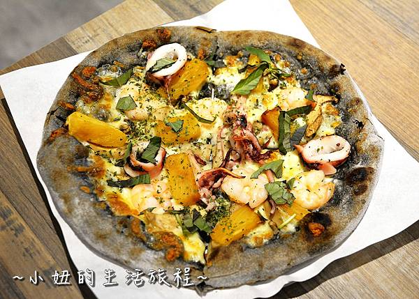 22 pizza creafe客意比薩 民生東路.JPG