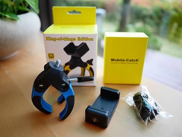 08 Mobile-Catch 行動釽  行動抓 行動爬 行動拔 行動杷 手機固定器 單眼固定器 相機固定器.JPG