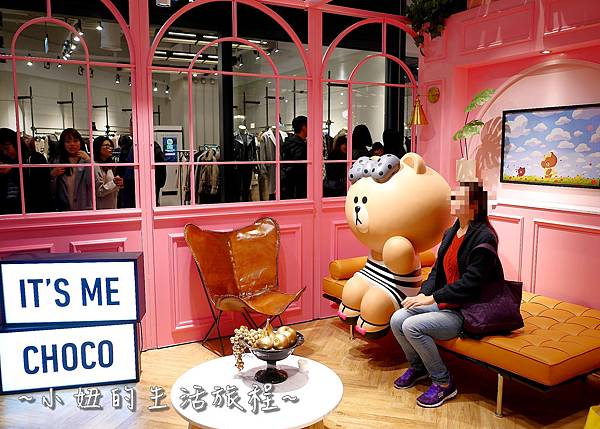 17 LINE FRIENDS CAFE   line咖啡  line cafe.JPG