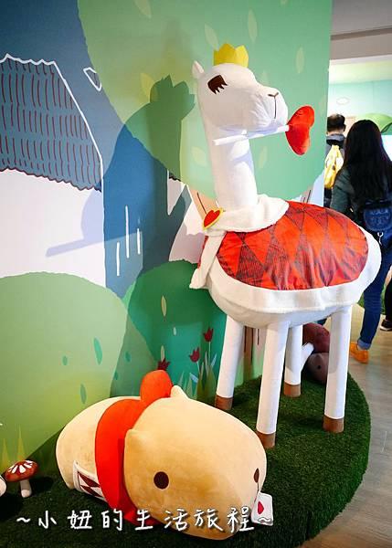 17 華山免費展覽  水豚君的奇幻童話.JPG