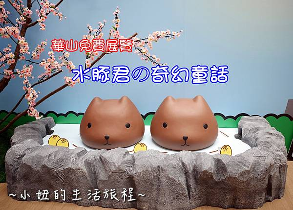 首圖 華山免費展覽  水豚君的奇幻童話
