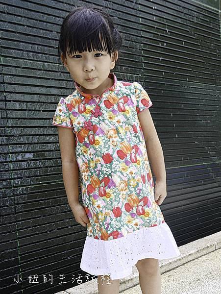 心裳 小旗袍 小洋裝 兒童手工訂製旗袍-24.jpg