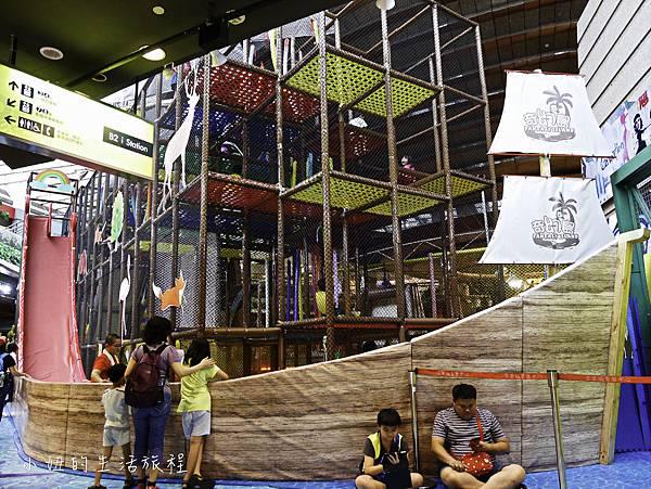 京華城,探索樂園,諾亞方舟繩網迷宮-10.jpg
