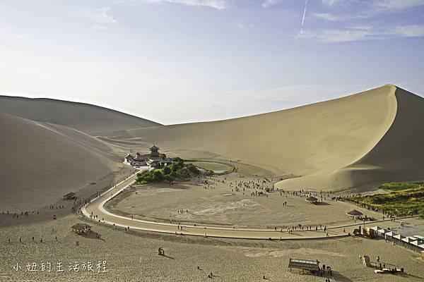 青海旅遊,莫高窟,月牙泉,又見敦煌-9