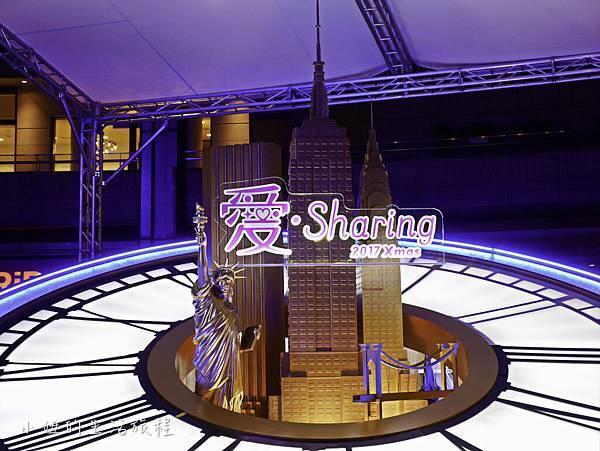 2017 統一時代百貨,台北店 ,耶誕節活動,愛.Sharing-9.jpg