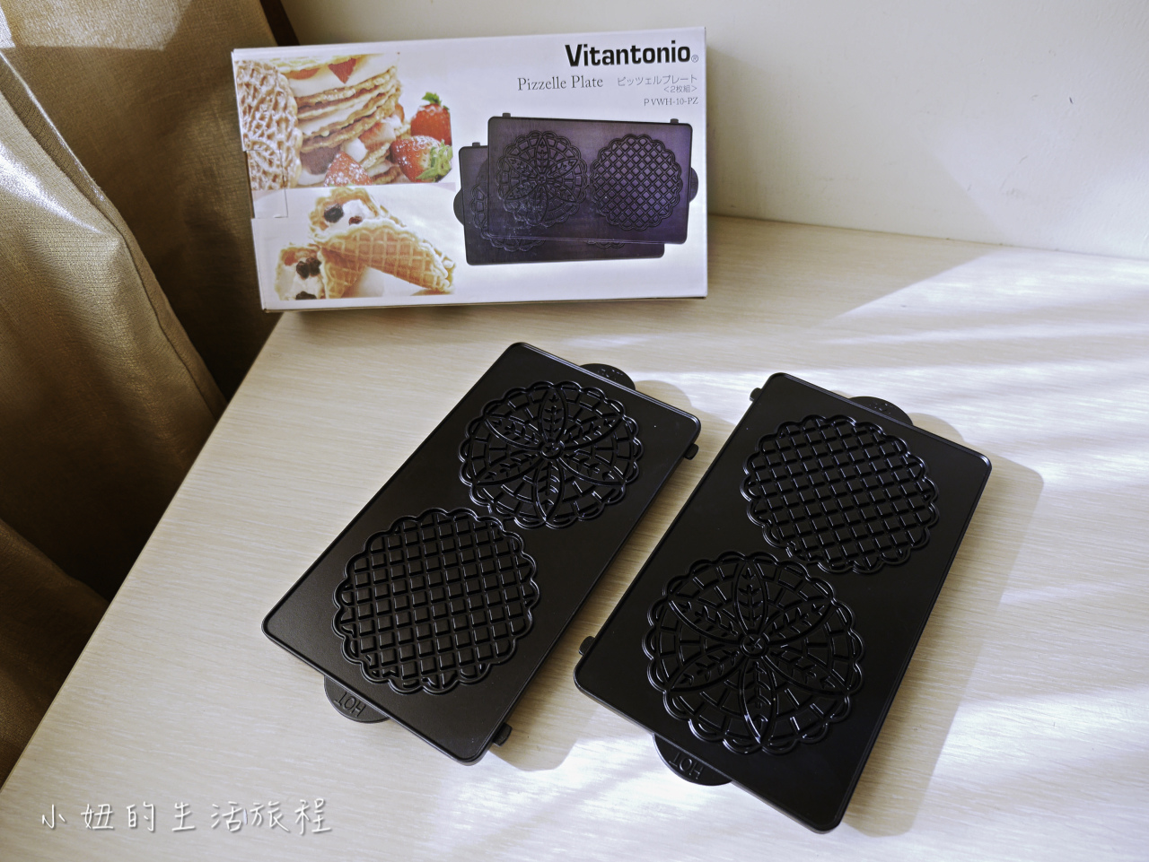 Vitantonio 鬆餅機VWH-30B ,蕾絲法式薄餅烤盤-9.jpg