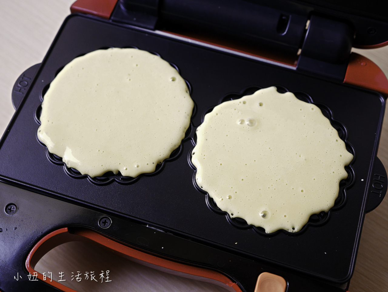 Vitantonio 鬆餅機VWH-30B ,蕾絲法式薄餅烤盤-20.jpg