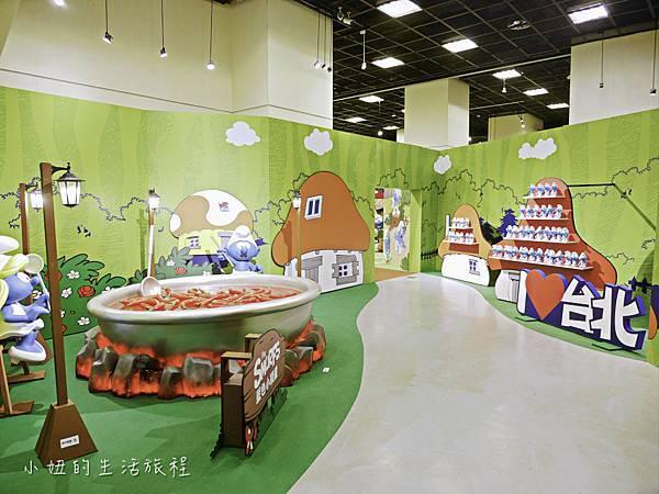 藍色小精靈 特展,2018,展覽,中正紀念堂-6.jpg