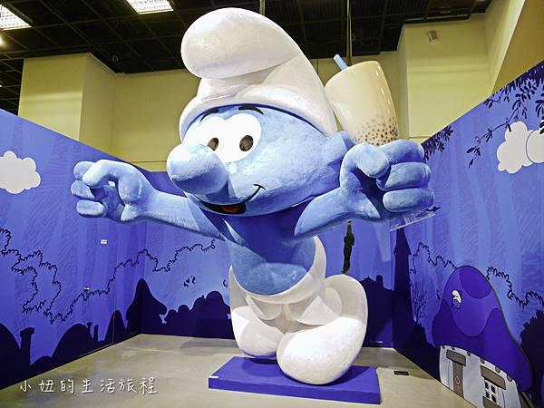 藍色小精靈 特展,2018,展覽,中正紀念堂-5.jpg