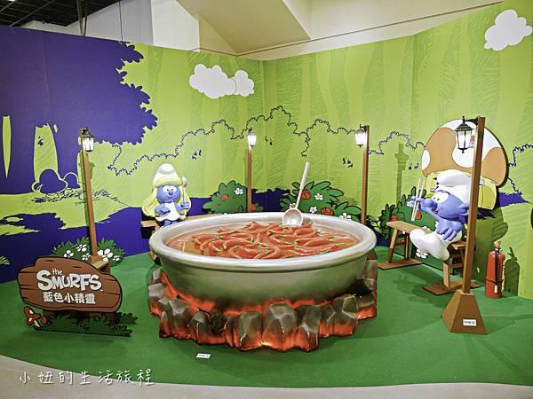 藍色小精靈 特展,2018,展覽,中正紀念堂-7.jpg