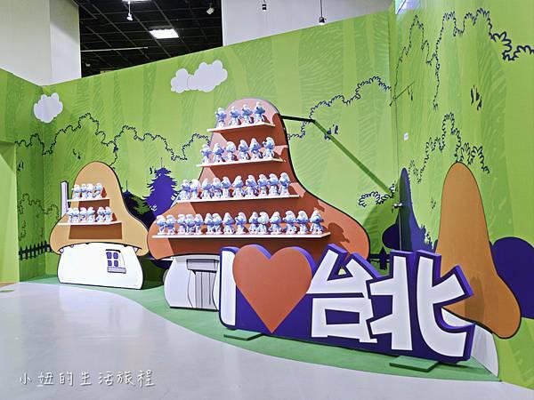 藍色小精靈 特展,2018,展覽,中正紀念堂-9.jpg