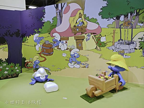 藍色小精靈 特展,2018,展覽,中正紀念堂-11.jpg