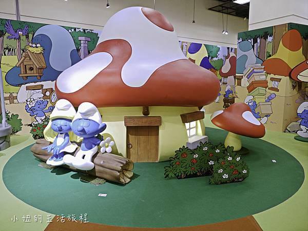 藍色小精靈 特展,2018,展覽,中正紀念堂-12.jpg