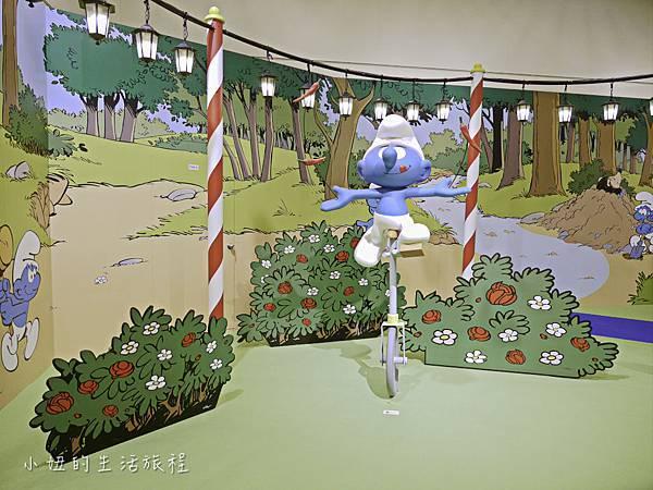 藍色小精靈 特展,2018,展覽,中正紀念堂-13.jpg