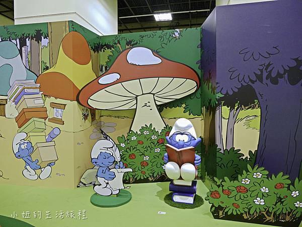 藍色小精靈 特展,2018,展覽,中正紀念堂-16.jpg