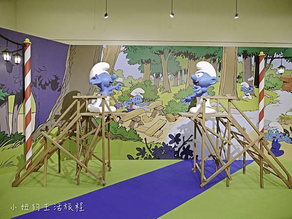 藍色小精靈 特展,2018,展覽,中正紀念堂-19.jpg