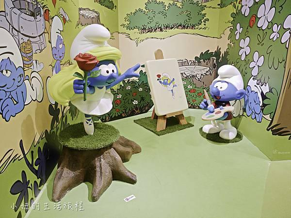 藍色小精靈 特展,2018,展覽,中正紀念堂-23.jpg