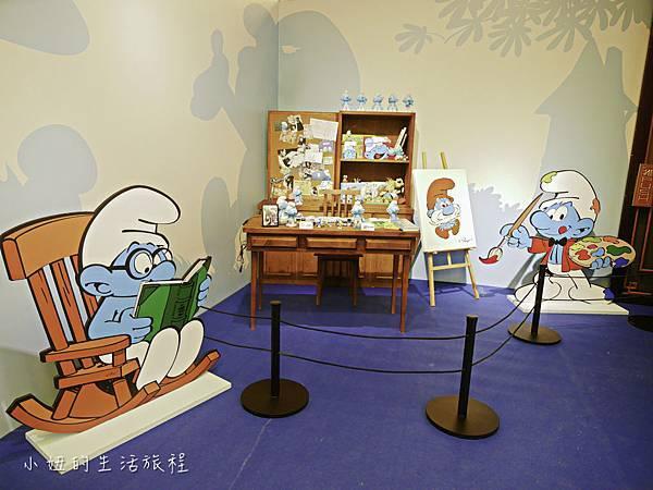 藍色小精靈 特展,2018,展覽,中正紀念堂-30.jpg