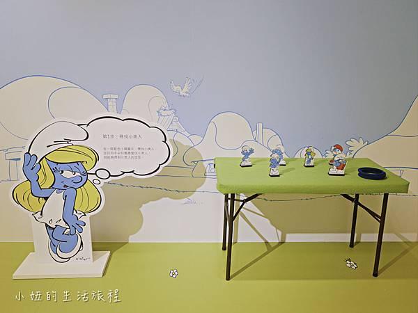 藍色小精靈 特展,2018,展覽,中正紀念堂-41.jpg