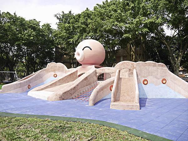 溪北公園,板橋,特色公園,章魚-3.jpg