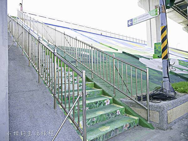 大台北都會公園,幸運草地景溜滑梯,捷運三重站-2.jpg
