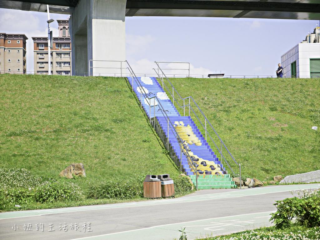 大台北都會公園,幸運草地景溜滑梯,捷運三重站-6.jpg