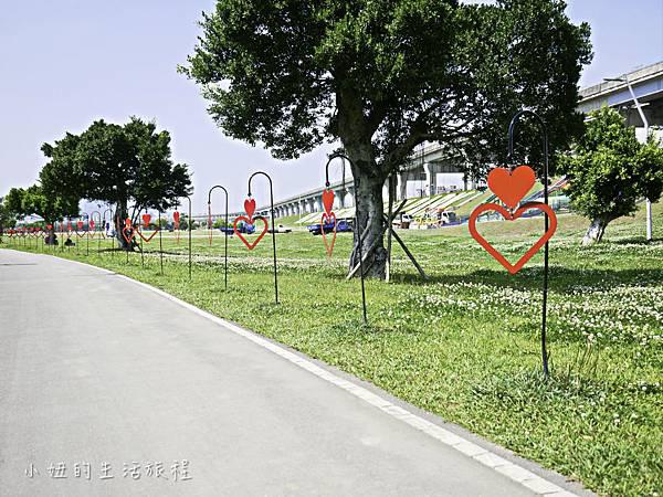 大台北都會公園,幸運草地景溜滑梯,捷運三重站-8.jpg