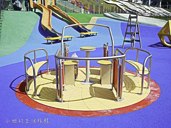 大台北都會公園,幸運草地景溜滑梯,捷運三重站-14.jpg