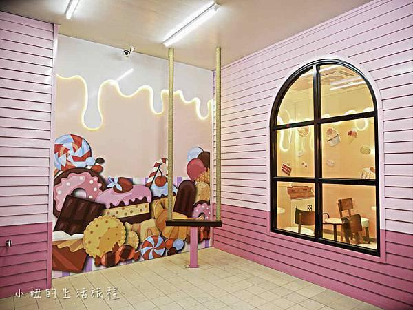 7-11后糖門市,台中,粉紅夢幻糖果屋,KITTY-2.jpg
