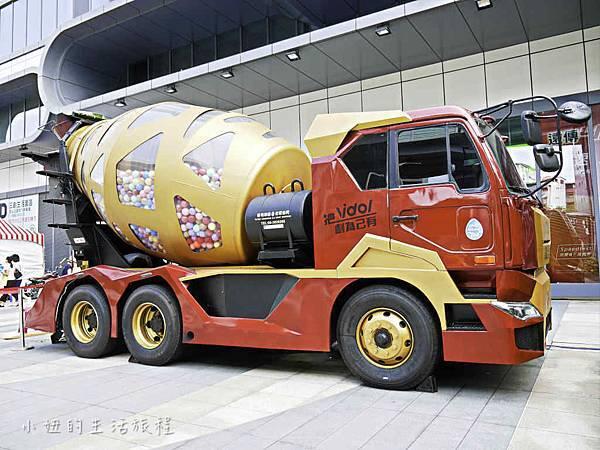 混泥土扭蛋機,台北,三創-1.jpg