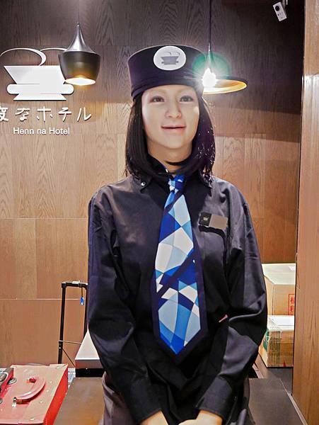 .東京銀座怪奇飯店 (Henn na Hotel Tokyo Ginza)-3.jpg