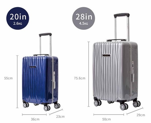 德國NaSaDen,行李箱,海德堡系列28吋鋁框行李箱-33