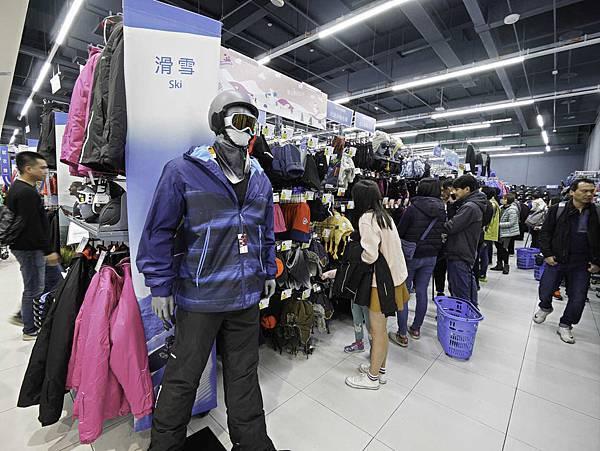 迪卡儂,滑雪,雪衣,雪褲,退貨,門市-3.jpg