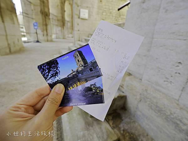 南法景點,梵谷,羅馬劇場-12.jpg