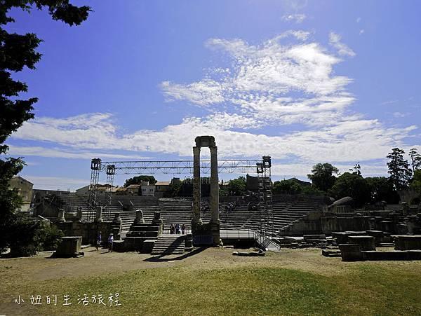 南法景點,梵谷,羅馬劇場-23.jpg