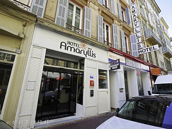 尼斯住宿推薦,阿瑪里斯酒店 Amaryllis Hôtel-13.jpg