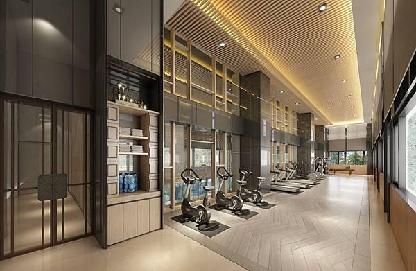 柏克萊公園 健身房  0123