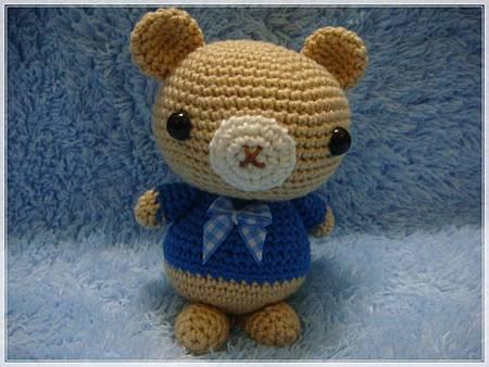 3月份團鉤-可愛小熊