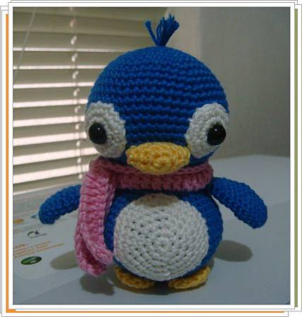 3月份團鉤-企鵝