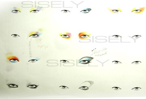 眼睛的暈法!^&^