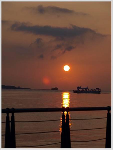 淡水夕陽-1